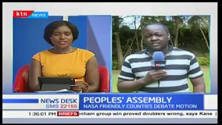 People's Assembly:NASA friendly counties debate motion