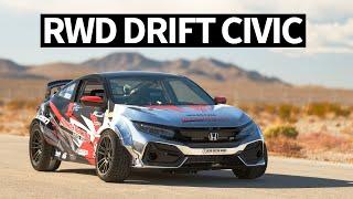 900hp RWD Honda Civic... Drift Car!? SEMA 2019 Madness Begins