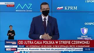 TV Premier: Cała Polska strefą czerwoną