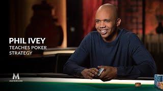 Belajar Strategi Poker bersama Phil Ivey – Masterclass