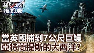 【關鍵復刻版】當英國捕到7公尺巨鰻 海怪、人魚、亞特蘭提斯的大西洋!? 20150515全集 關鍵時刻|劉寶傑