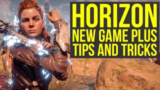 Horizon Zero Dawn New Game Plus TIPS AND TRICKS FOR ULTRA HARD (Horizon Zero Dawn Tips And Tricks)