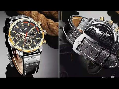 Мужские водонепроницаемые наручные часы DOM / Mens waterproof wrist watch