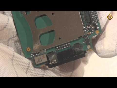 Ремонт Sony Ericsson W810 - замена разъема заряда в телефоне