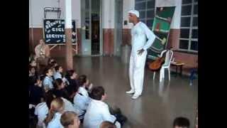 preview picture of video 'Ramón Columbie Grimón, narrador oral en escuela primaria de María Juana'