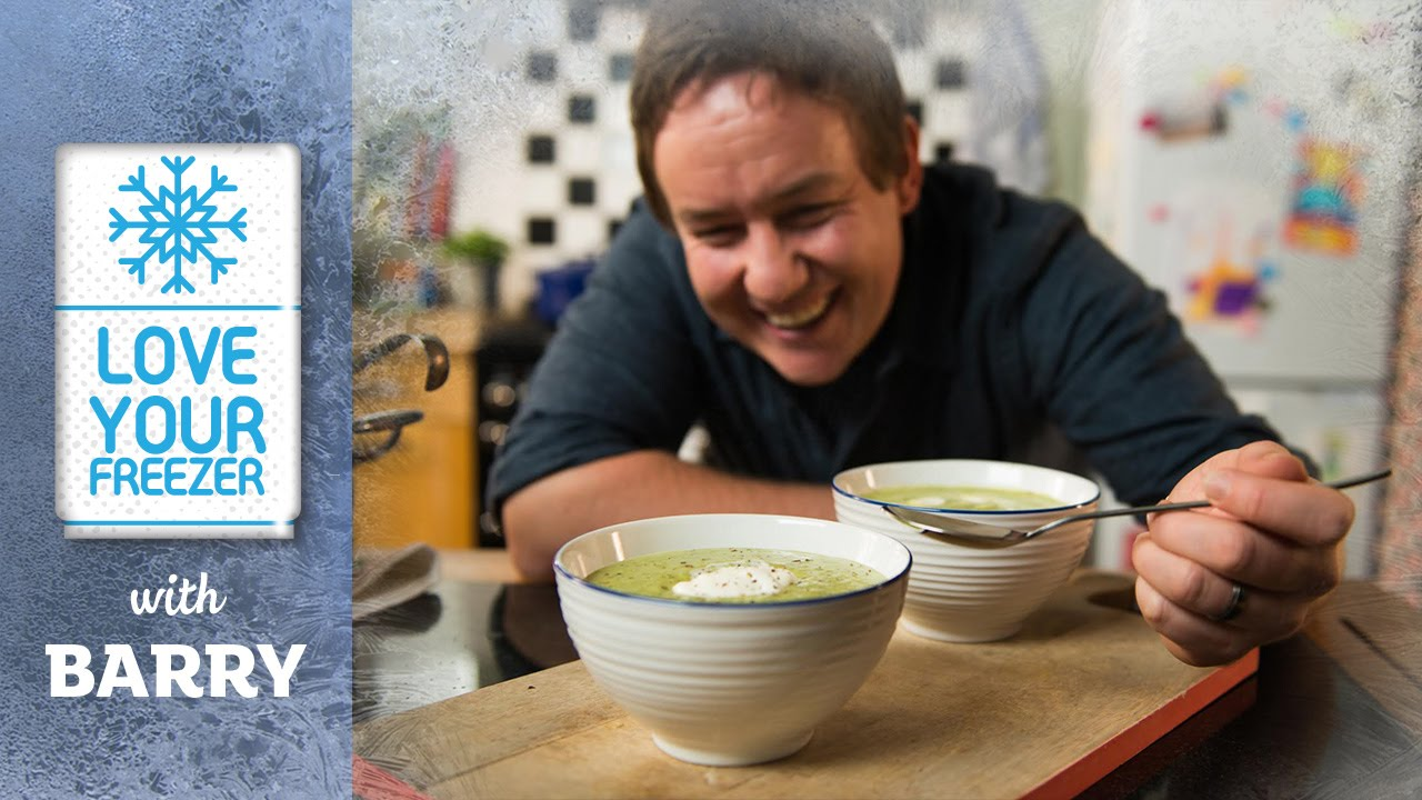 How to make pea and mint soup video