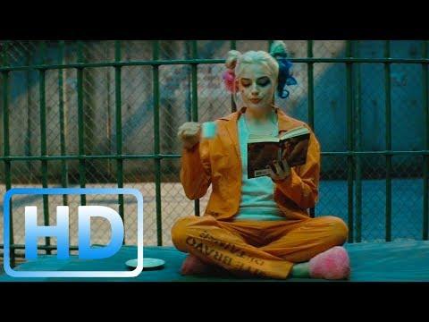 Отряд самоубийц/  Финальная сцена / Джокер спасает Харли Квинн