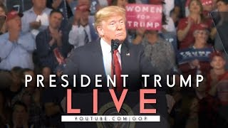 LIVE: President Trump In Houston, TX