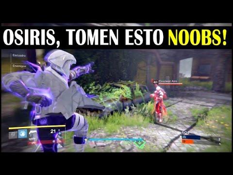 Destiny - Pase Completo de Osiris con Hechicero 9-0 (El Faro y Recompensas)