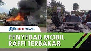 Penyebab Lamborghini Milik Raffi Ahmad yang Terbakar: Tidak Pakai Pelat Nomor, Inisatif sang Sopir
