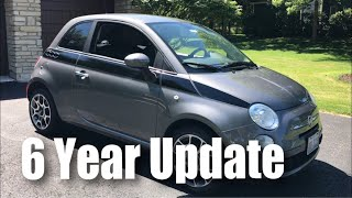 What I've learned about my Fiat 500 after six years