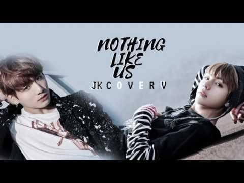 Bts                   jungkook ft  v    nothing like us   cover