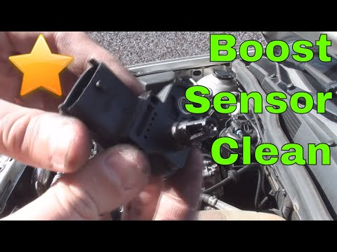 VW Golf Mk6 P0045 Boost Pressure Sensor Fault & Flashing