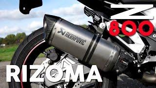 Kawasaki Z800 Rizoma, Akrapovic Exhaust Sound