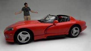 The Original 1992 Dodge Viper Was a Ridiculously Basic Dangerous Sports Car