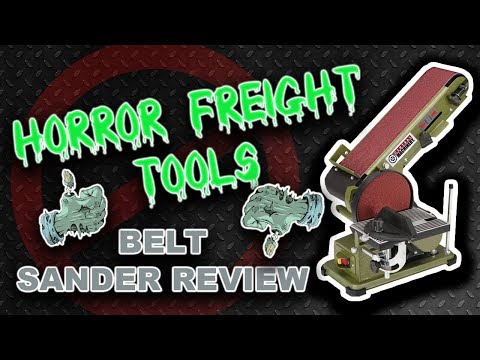 Unbiased Harbor Freight Belt Sander Review