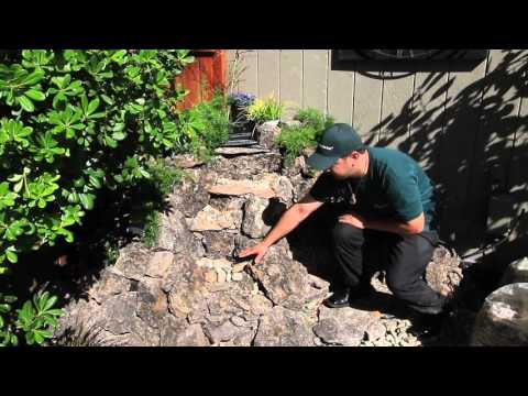 The Waterfall Guy - TUTORIAL 1: How to build a small backyard waterfall