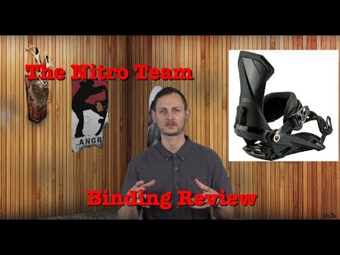 The 2019 Nitro Team Snowboard Binding Review