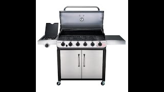 Char Broil Performance 6 Burner Stainless Gas Grill 1139063
