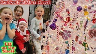 Baby Elf on The Shelf Found! Preston Turns Into an Elf!!