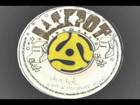 John Holt – Knock On Your Door – pre bl 3403-1 jackpot records reggae
