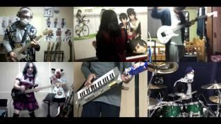 [HD]Kuzu no Honkai OP [Uso no Hibana] Band cover