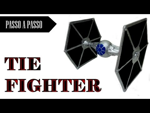 Como fazer um Brinquedo Tie Fighter STAR WARS !