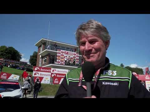 2019 Cadwell Park with FS-3 Racing Kawasaki and Danny Buchan
