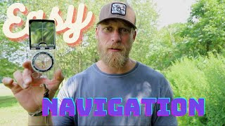 In and Out Navigation: The Easiest Way to Use a Compass