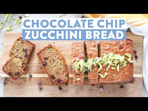 Homemade Chocolate Chip Zucchini Bread | Healthy Baking Ideas