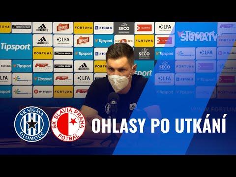Aleš Mandous po utkání FORTUNA:LIGY s týmem SK Slavia Praha