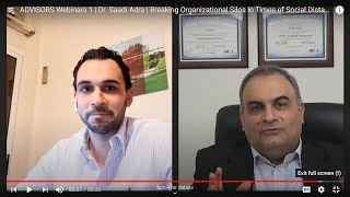 Breaking Organizational Silos by Dr. Saadi Adra