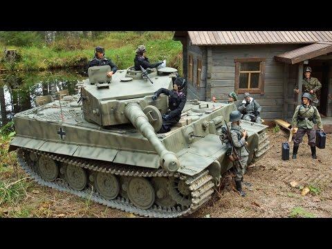 1/6 RC Tiger tank