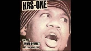 KRS One ‎– Word Perfect [Instrumental]