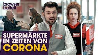 Supermärkte in Zeiten von Corona
