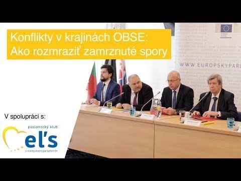 Kukan ku konfliktom v krajinách OBSE: Ako rozmraziť zamrznuté spory