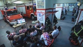 Хорватские пожарные подорвались по тревоге, не досмотрев решающий пенальти с РФ