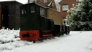 preview picture of video 'Garden Railway 10 Jan 2009'