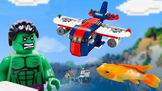 Airplane, Submarine, Cars and Truсks . Hulk Fails.
