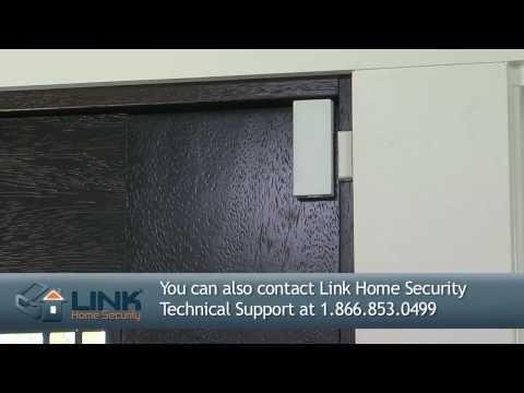 How To Install 2GIG Thin Door/Window Contact (Link Interactive)