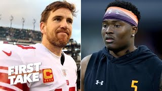'The Giants would be insane' if they pass on Dwayne Haskins - Max Kellerman | First Take