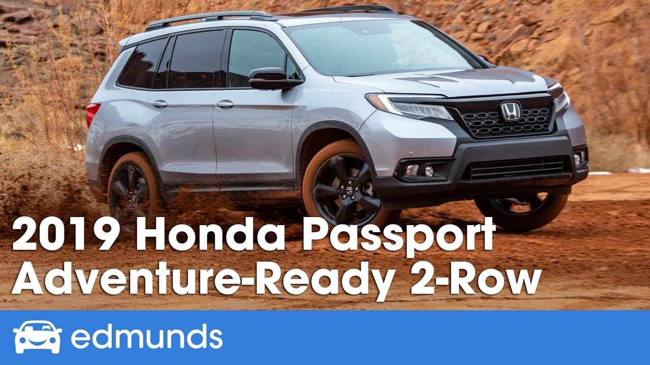 2019 Honda Pport Suv 1 Midsize Suvs Edmunds Rating