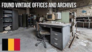 URBEX | Vintage Büros und Archive gefunden