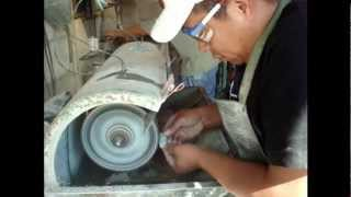 How is Jade Jewelry made? - Handcrafted from raw stone and silver to a beautiful necklace