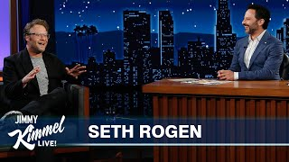 Seth Rogen on Paul Rudd Massage Prank, Getting His Father-In-Law High & Dog Penis Scandal