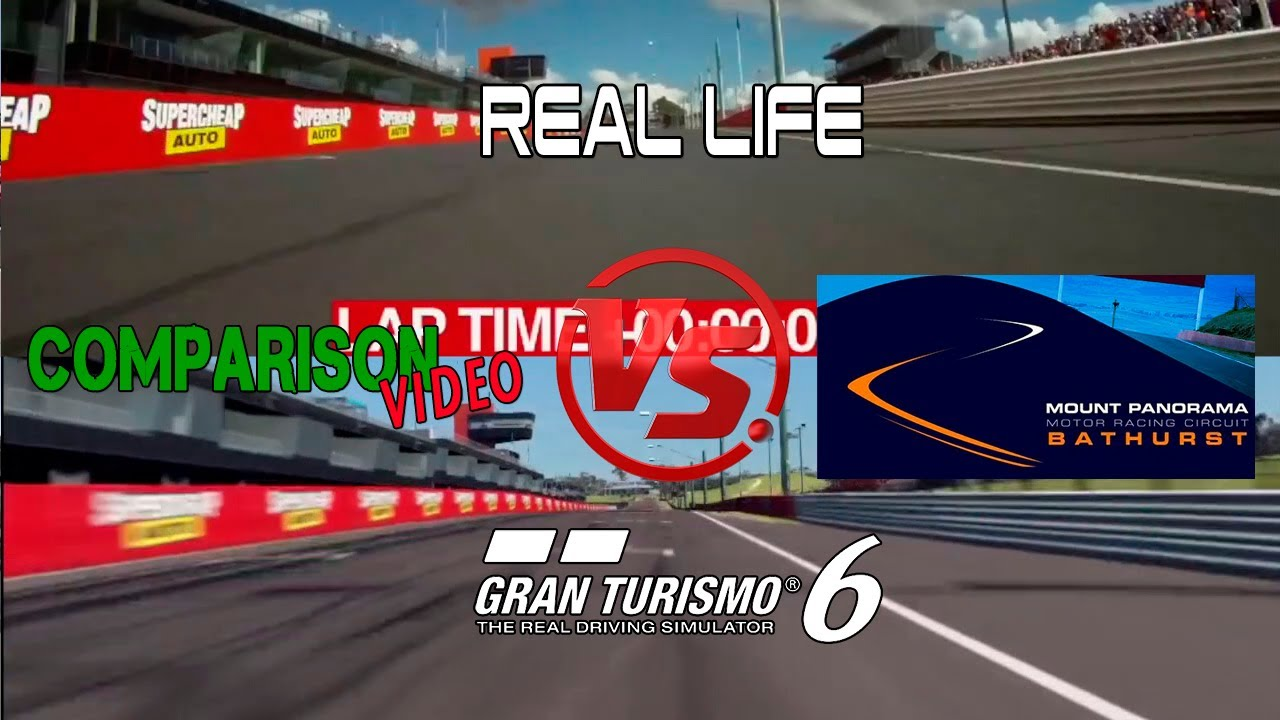 This Gran Turismo 6 Bathurst Real Life Comparison Video Is… Wow. Just Wow.
