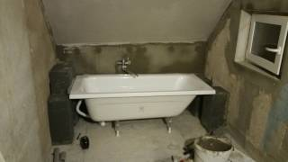 Rekonstrukce koupelny za 10 dní / bathroom renovation