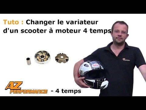 Changer le variateur et/ou les galets de son scooter de type Gy6 / 139QMB / …
