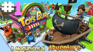 Toysburg (By Angry Mob Games) iOS / Android Gameplay Video PART #1