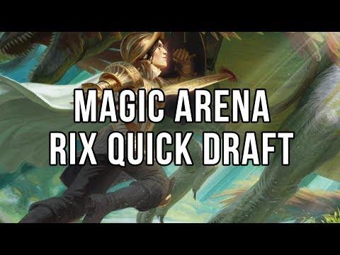 Magic Arena - RIX Quick Draft Upírů
